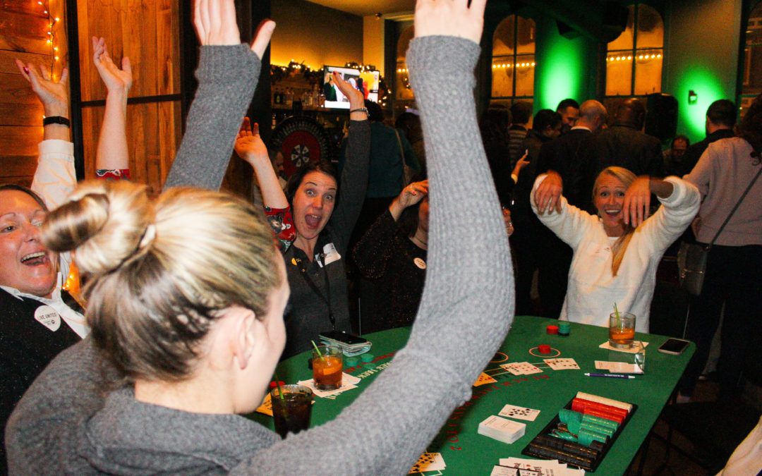Advanced Hires Throws Awesome Casino Christmas Party of the Century