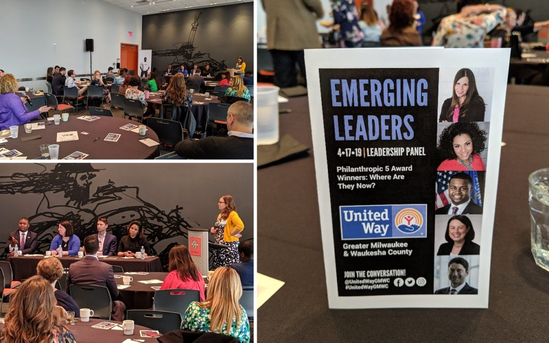 Advanced Hires, Sponsor of Technology United, attends Emerging Leaders Leadership Panel